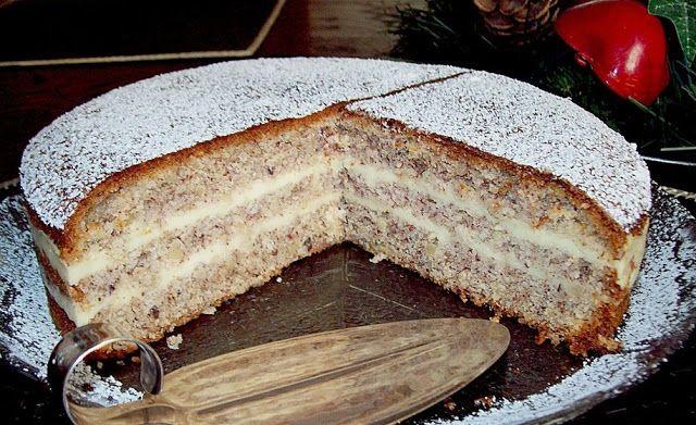 Backen - Kochen & Genießen: Nuss Vanille Torte