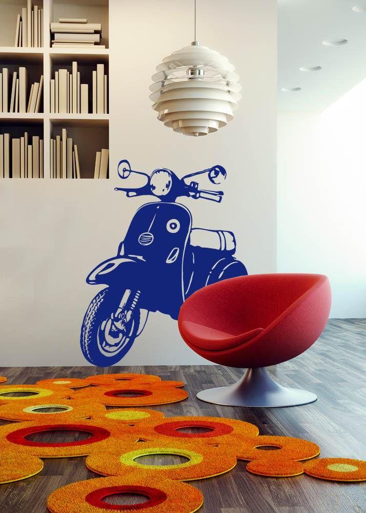 Vespa > Collezione Oggetti #wallstickers #mycollection #room #colour #design #home #office #living #stuff #vespa