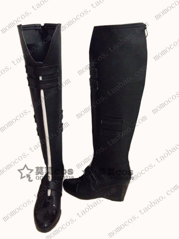 Мстители бэтмен черная вдова обувь косплей обувь подгоняют сапоги
