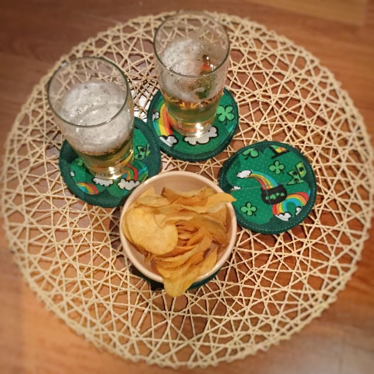 St.Patrick's Day coasters