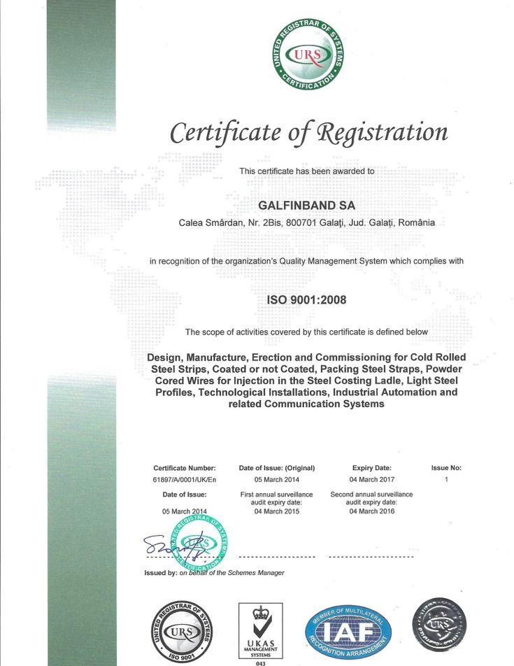 Galfinband - Certifications, TUV SudDeutschland, Rockwell Automation, Rockwell Automation System Integrator
