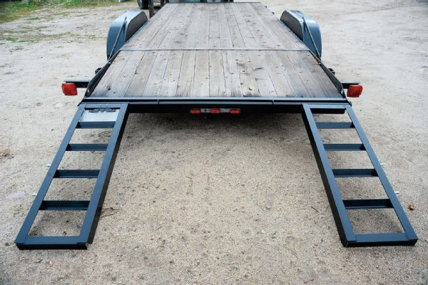 011 Trailer Ramps Loading Car Hauler Cappa Fabrication Project Weld