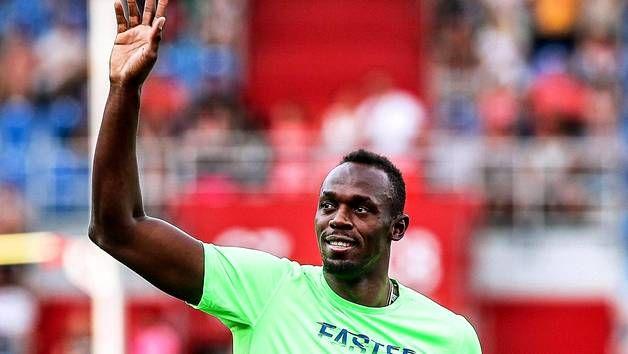 Usain Bolt jätti jäähyväiset Ostravan Golden Spike -yleisurheilukilpailulle.