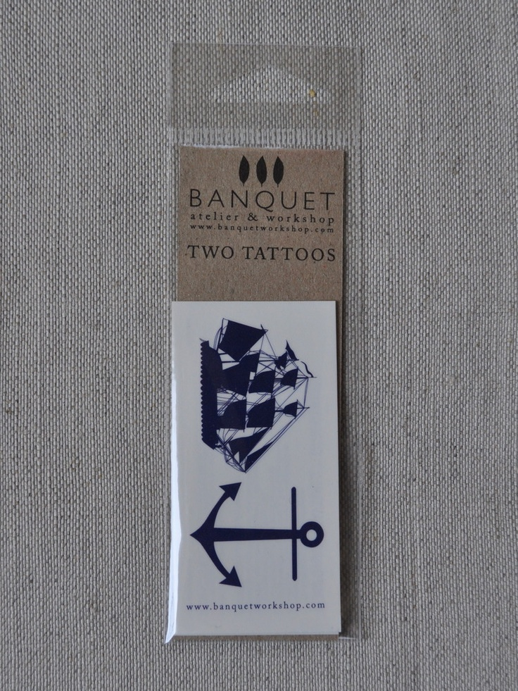 Image of Tattoos: Nautical    These are the tattoos i want!   Ship on my wrist, anchor on my ankle.   Buy these and wear to see how they work.