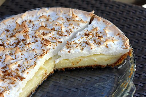 Flapper Pie- The Lost Prairie Pie | Flapper pie is a custard pie topped with meringue. The Graham cracker cream pie dates back to the 19th century but entered Western Canadian pop culture in the 20th century as flapper pie.  Click image or this link for recipe http://www.thekitchenmagpie.com/flapper-pie-the-lost-prairie-pie