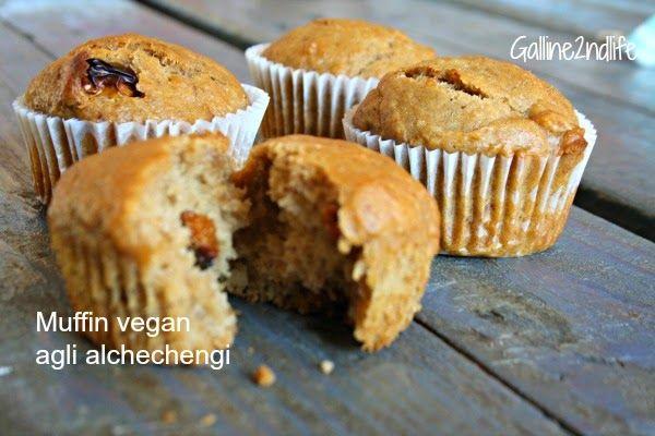 muffin vegan agli alchechengi sugarfree e vegan