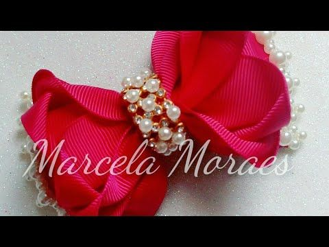 8bae6ef66 Laço Chique! Na fita N°9(38mm) - YouTube | Girls Bows & Hair Bands ...