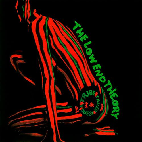 A Tribe Called Quest, Low End Theory (1991) - The 50 Best Hip-Hop Album Covers | Complex