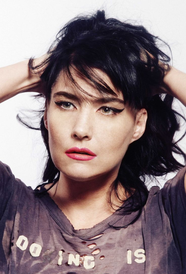 I think it's time to grow my hair back out.  Kathleen Hanna, 2013 Nero Magazine Japan