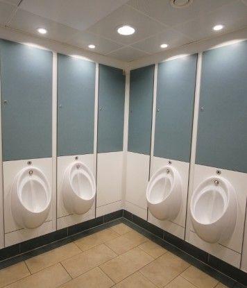 Pendock facilitates fast-track toilet refurbishment at train station.