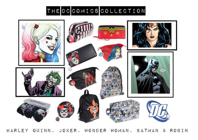"""The DC Comics Collection"" by bluebanana ❤ liked on Polyvore"