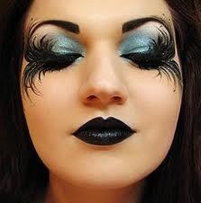 Fallen Angel Dark Fairy Makeup for Halloween (by MissChievous)