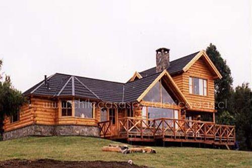 Casas tipo madera casas tipo madera chile casas prefabricadas pinterest - Feria de casas prefabricadas ...