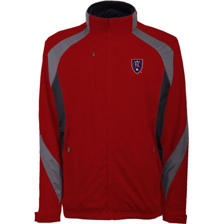 Antigua Men's Real Salt Lake (Blue) Tempest Red Full-Zip Jacket, Size: Medium
