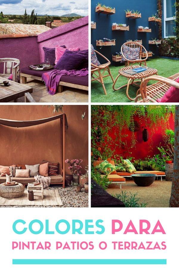 Colores Para Pintar Patios O Terrazas Tendencias En