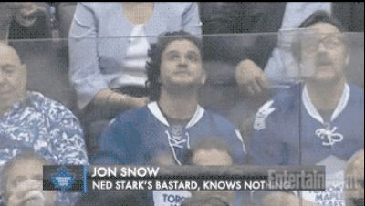 "And Jon Snow at a hockey game: | Seeing The ""Game Of Thrones"" Cast As Normal Humans Is Still Completely Mesmerizing"