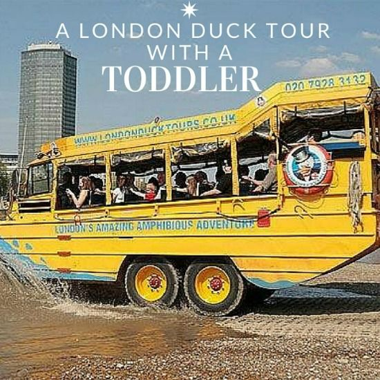 A London Duck Tour with A Toddler - Kiddieholidays