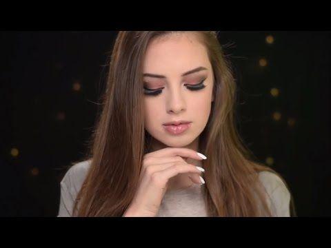Потрясающий макияж с эффектом «дымчатых глаз». #Макияж Smoky Eyes. 💕✨ - YouTube
