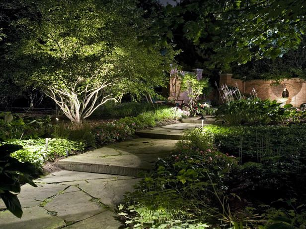 Inventive outdoor lighting solutions create stunning landscapes that can be enjoyed during the day and at night. @HGTV shares how to illuminate a yard with landscape lighting in 3 easy steps.