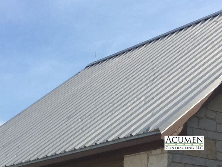 Hail damaged metal roof in alvord texas metal roof