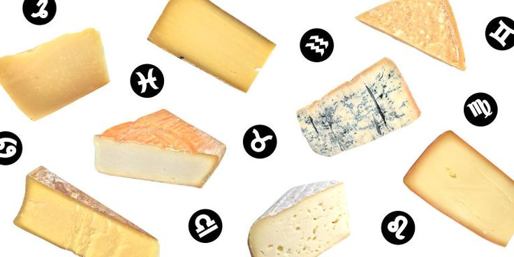 In honor of National Cheese Day, we paired up with Elle.com to present your ultimate guide. (Your horoscope has never been this cheesy.)
