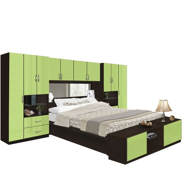 lincoln pier wall bedroom with storage cabinets contempo space - Pier Wall Bedroom Furniture