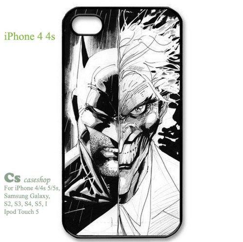Batman Joker Case Durable Hard Plastic iPhone 4 4s Case | 5STAR - Accessories on ArtFire
