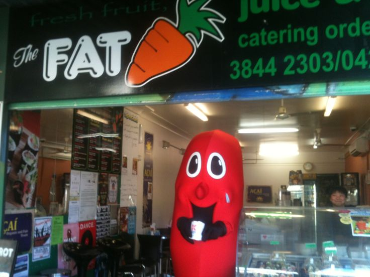 Fat Carrot and Billy the kidney