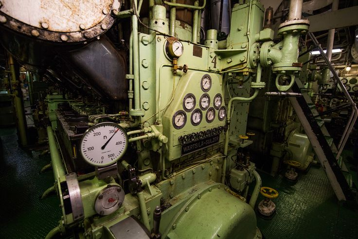 The old but well maintained engine room of the Icebreaker ship Sampo Photo by © 2016 Worldly Nomads Travel Blog