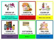 FLASHCARDS - PHRASAL VERBS