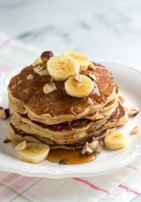 * Dietetyczne Pancakes * Pomysł na IDEALNE ŚNIADANKO ♥♥♥