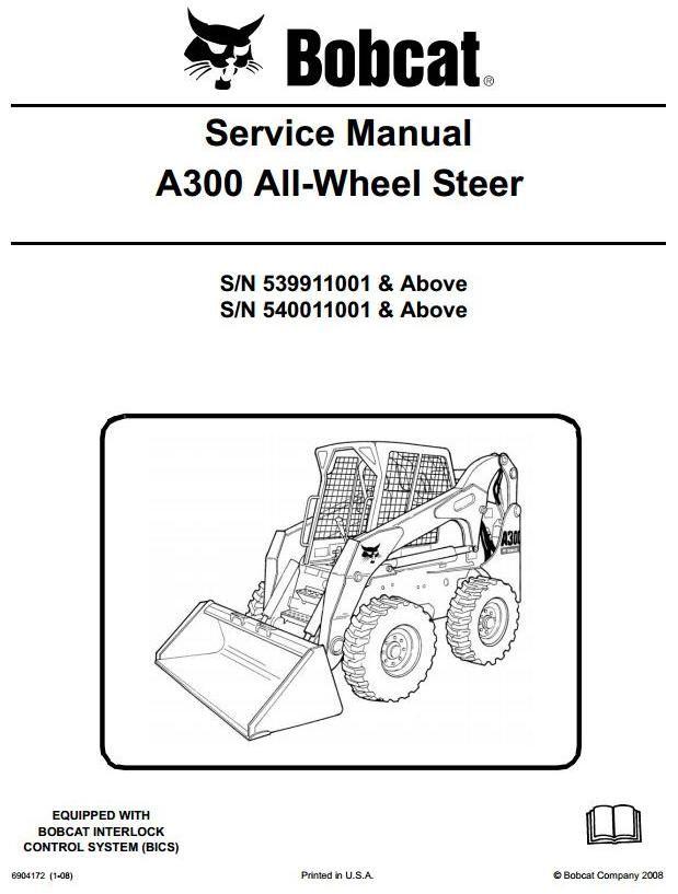 30 best BobCat Manuals images – Loader Kobelco Wiring-diagram