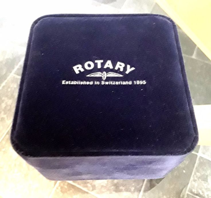 vintage original rotary watch box excellent condition
