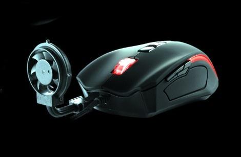 Ventilator Gaming Maus bringt Spielspaß auch an heißen Tagen – Cyclone Element Gaming Mouse. That's Future