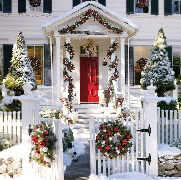 80 Best Outdoor Christmas Decor Images On Pinterest