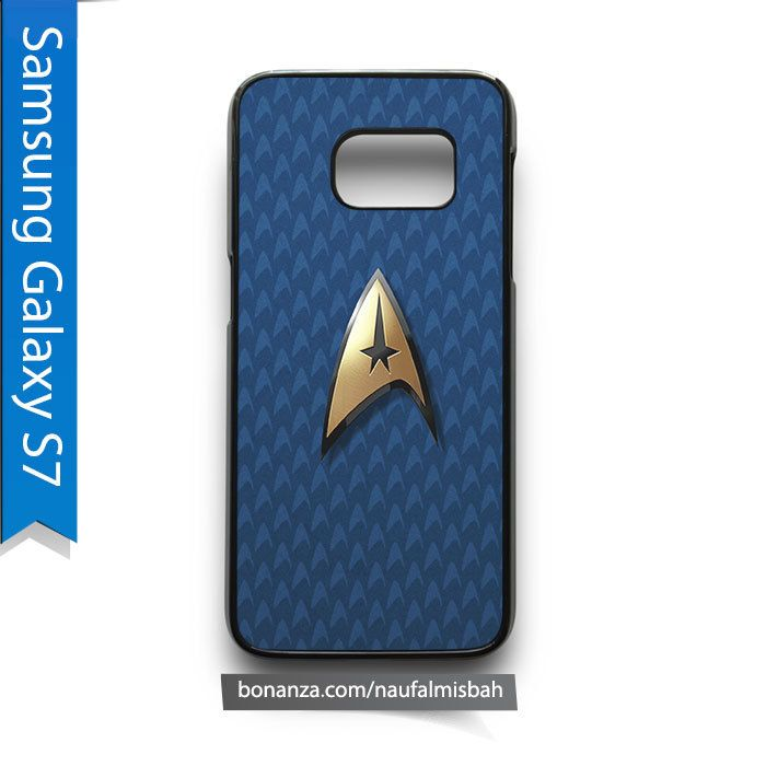 Star Trek Logo Pattern Samsung Galaxy S7 Case Cover