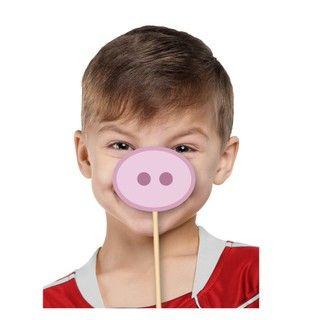 Props para photobooth de Peppa Pig