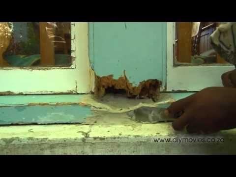 Repairing Rotten Wooden Window Frames - GREAT TIPS