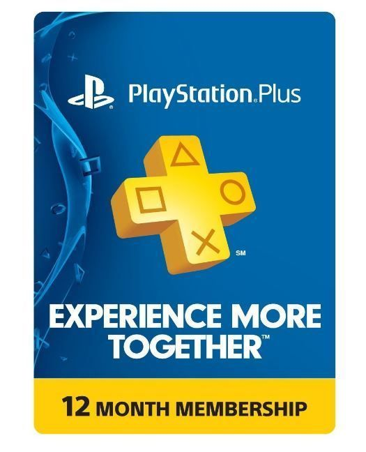 Sony PlayStation Plus 1 Year Membership Subscription Card - NEW! #Sony