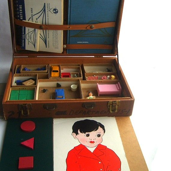 1960 Stanford Binet Intelligence IQ Testing by SweetLoveVintage