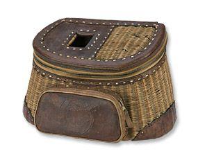 fly fishing creel basket - Google Search