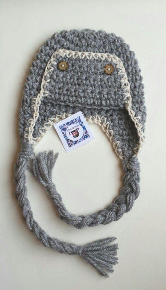Gorro tejido a crochet para bebe por tutitas tejedoras