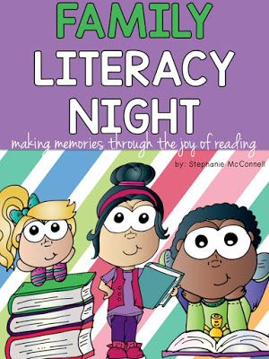 Family Literacy Night School-wide Event K-3