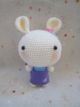 Crochet Pattern-Amigurumi Bunny