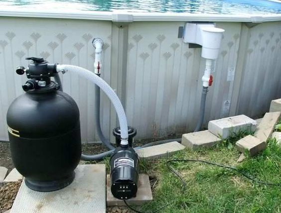 Above Ground Pool Skimmer Leak with Pump for Medium Pool Size