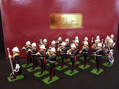 BRITAINS 41102 ROYAL MARINES BAND LIMITED EDITION METAL TOY SOLDIER FIGURE SET