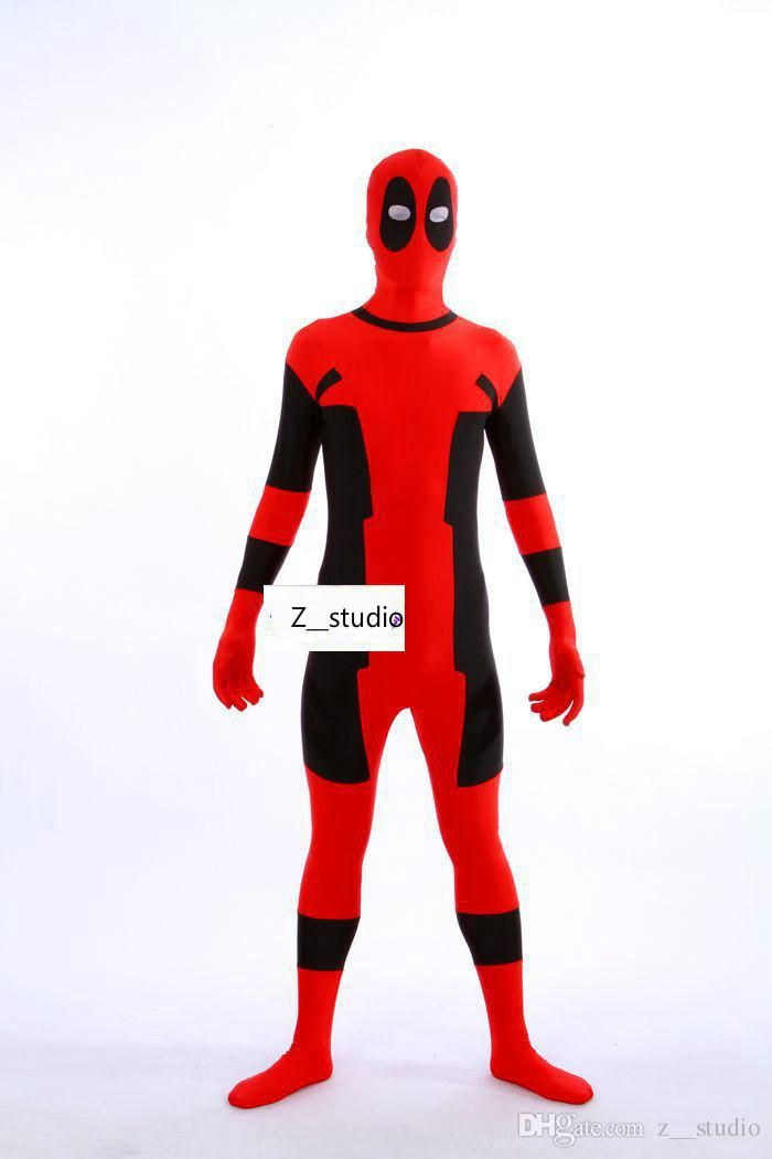 2016 New Hot The Deadpool Cosplay Costumes Zentai Catsuit Costumes Men Lycra Breathable Tights Fancy Costumes From Z__studio, $34.02 | Dhgate.Com