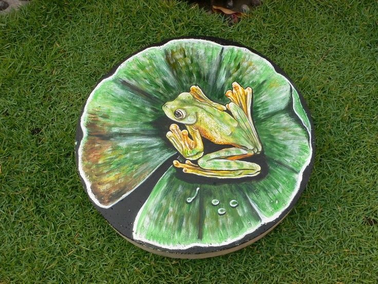 how to make a mosaic stepping stone indirect method