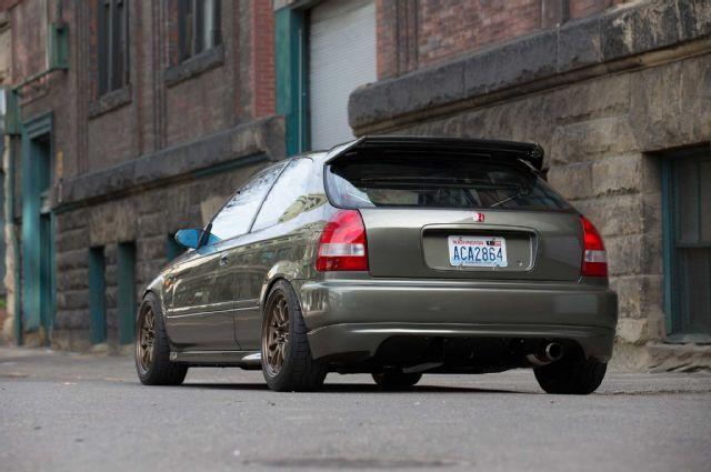 1996 Honda Civic Sergeant Rear Diffuser Honda Civic Honda Civic Hatchback Honda Hatchback