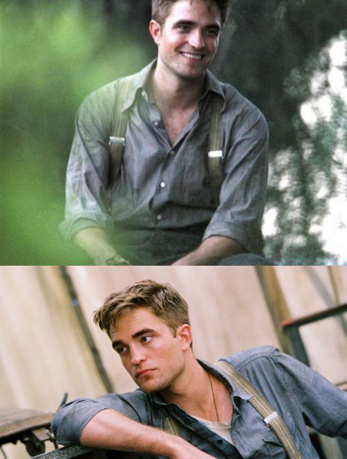 robert pattinson has his moments of beauty.